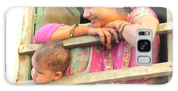 Bundi Mother And Child Galaxy Case