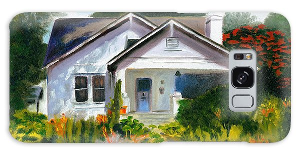 Bungalow In Sunlight Galaxy Case
