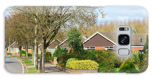 Bury St Edmunds Galaxy Case - Bungalows by Tom Gowanlock