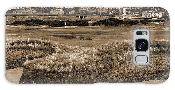 Bunker At St. Andrews Old Course Scotland Galaxy Case