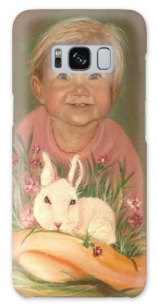 Bunny Rabbit Galaxy Case by Sharon Schultz