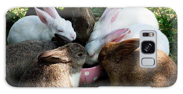 Bunny Tea Party Galaxy Case