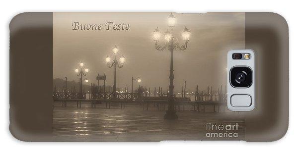 Buone Feste With Venice Lights Galaxy Case
