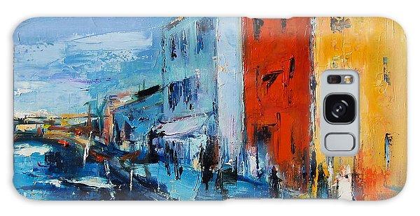 Burano Canal - Venice Galaxy Case