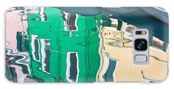Burano Reflected Galaxy Case by Joan Herwig