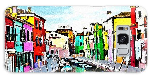 Burano - Venice - Italy Galaxy Case by Ze  Di