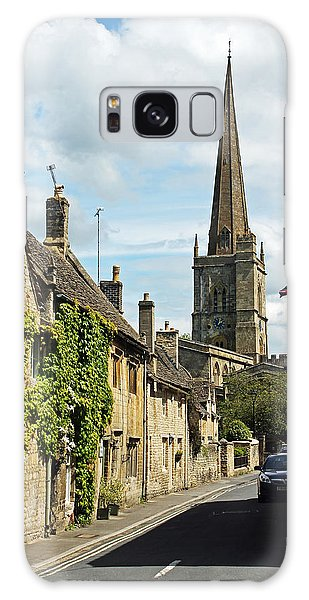Burford Village Street Galaxy Case by Tony Murtagh