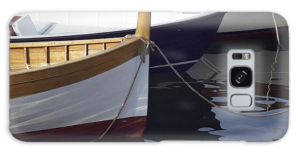 Burgundy Boat Galaxy Case