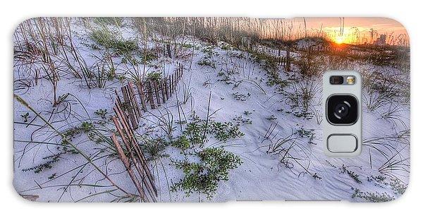 Buried Fences Galaxy Case by Michael Thomas