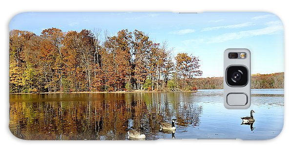 Burke Lake Park In Fairfax Virginia Galaxy Case