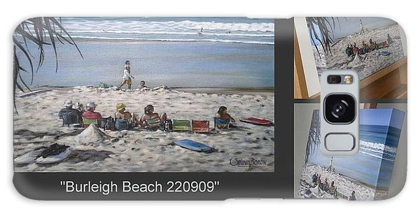 Burleigh Beach 220909 Galaxy Case