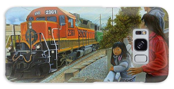 Burlington Northern Santa Fe Galaxy Case by Thu Nguyen