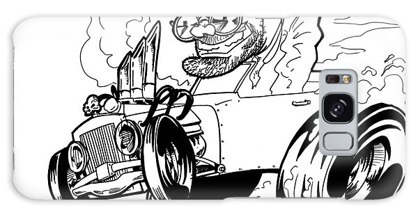 Old Truck Galaxy Case - Burn Out by Big Mike Roate