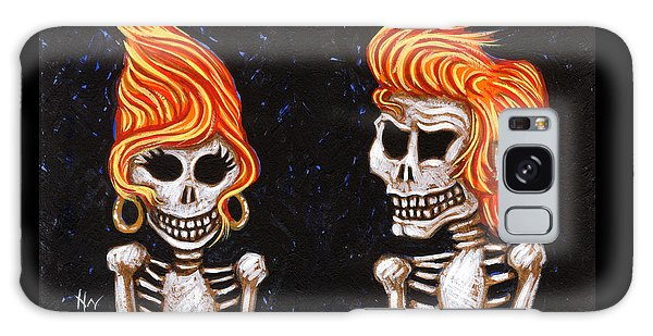 Burnin' Love 4 Ever Galaxy Case by Holly Wood