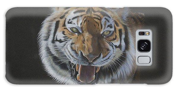 Galaxy Case - Burning Bright - Siberian Tiger by Jill Parry