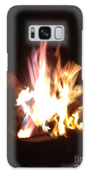 Burning For You Galaxy Case by Fania Simon