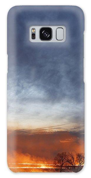 Burning Galaxy Case by Scott Bean