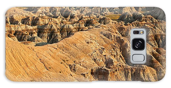 Burns Basin Overlook Badlands National Park Galaxy Case