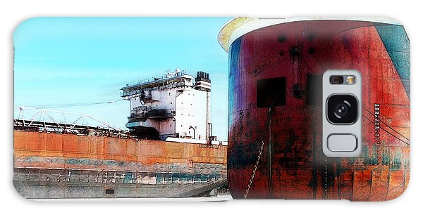 Burns Harbor And Edwin H Gott Galaxy Case