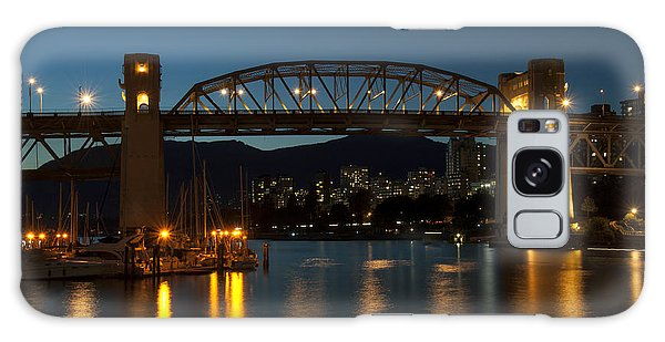 Burrard Bridge In The Evening Galaxy Case