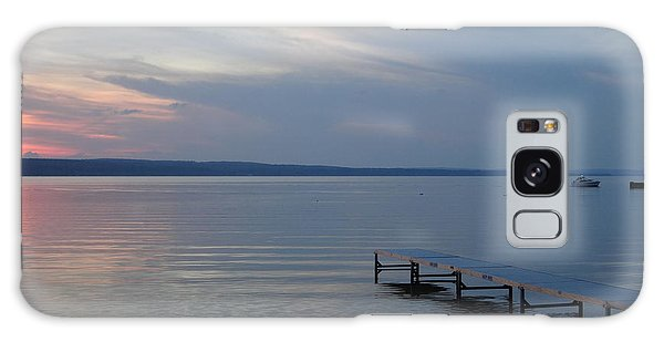 Burt Lake Dock Galaxy Case