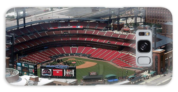 Busch Memorial Stadium Galaxy Case by Thomas Woolworth