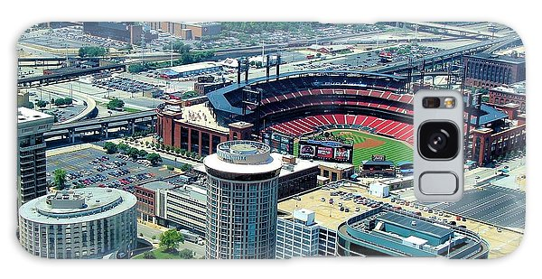 Busch Stadium From The Top Of The Arch Galaxy Case