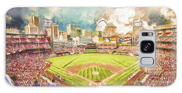 Busch Stadium St. Louis Cardinals Day Paint Galaxy Case