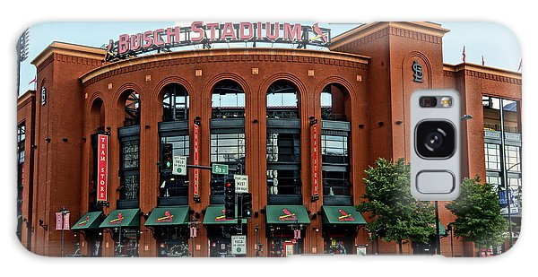 Busch Stadium Home Of The St Louis Cardinals Galaxy Case by Greg Kluempers