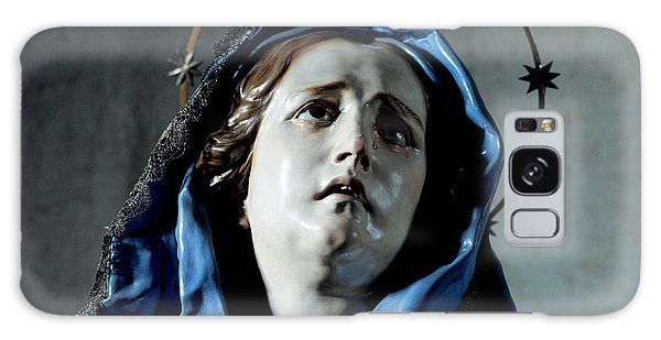 Anguish Galaxy Case - Bust Of Painful Virgin by Francisco Salzillo