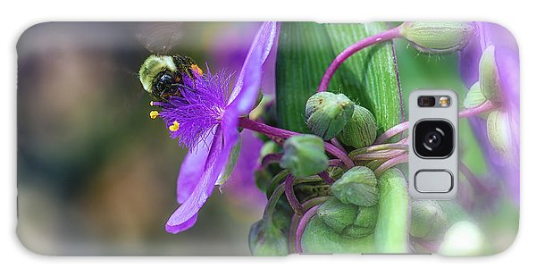 Busy As A Bee Galaxy Case by Mary Lou Chmura