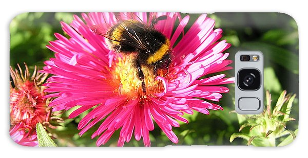 Busy Bee Galaxy Case by Bev Conover