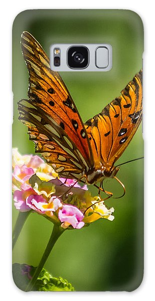 Busy Butterfly Galaxy Case by Jane Luxton