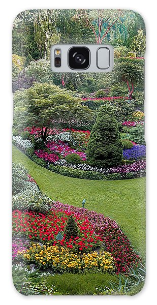 Butchart Gardens Galaxy Case by John M Bailey
