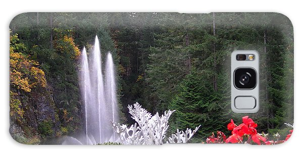 Butchart Gardens Fountain Galaxy Case