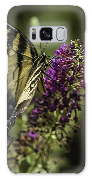 Butterflies Along The Blue Ridge Galaxy Case