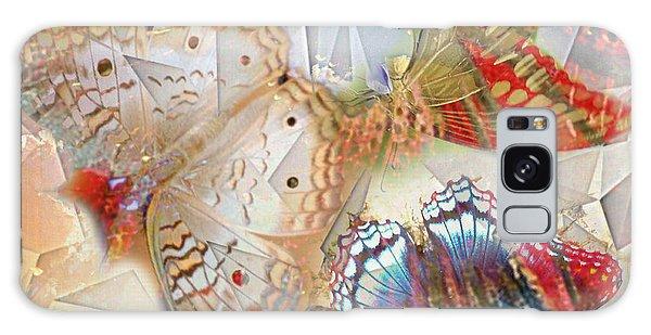Butterflies Geometric 2 Galaxy Case