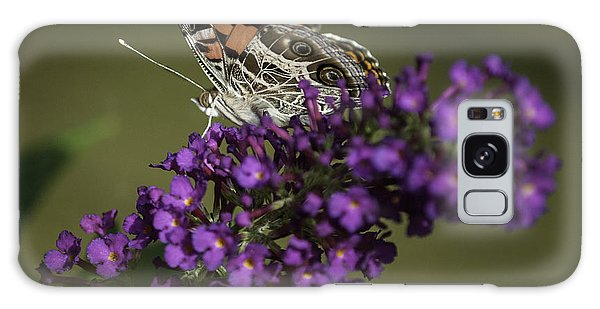 Galaxy Case featuring the photograph Butterfly 0001 by Donald Brown