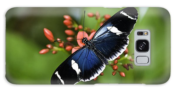 Galaxy Case featuring the photograph Butterfly 0002 by Donald Brown