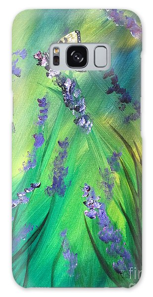 Butterfly 3 Galaxy Case by Laurianna Taylor