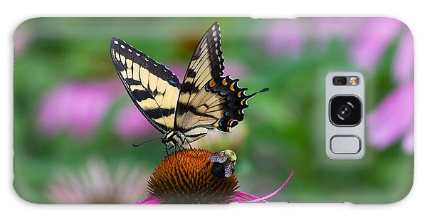 Butterfly And Bee Galaxy Case
