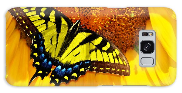Butterfly And The Sunflower Galaxy Case