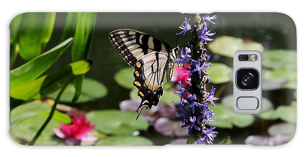Butterfly At Lunch Galaxy Case by Marilyn Carlyle Greiner