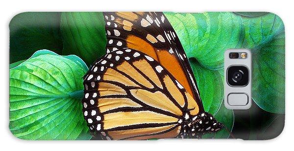 Butterfly Be Still Galaxy Case