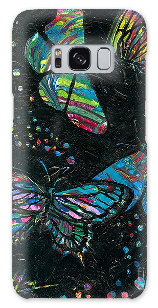 Butterfly Beauties Galaxy Case