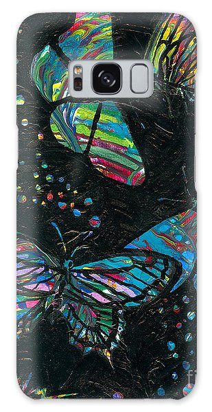 Butterfly Beauties Galaxy Case by Denise Hoag