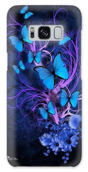 Butterfly Burst Galaxy Case