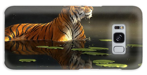 Wildlife Galaxy Case - Butterfly Contemplation by Aaron Blaise