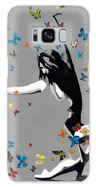 Butterfly Dance Galaxy Case