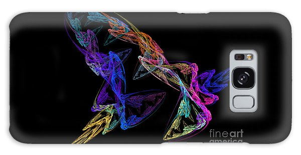 Butterfly Dance Galaxy Case